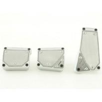 Aliuminiai pedalai silver