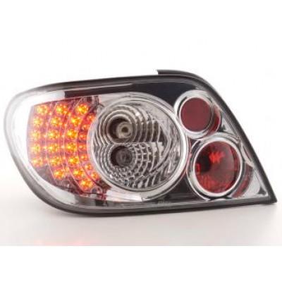 LED galiniai žibintai Citroen Xsara Hatchback  N6  97-03 chrominė