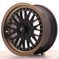 Japan Racing JR10 15x7 ET30 4x100/108 MatBlk BzLip