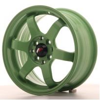 Japan Racing JR3 15x7 ET40 4x100/114 Green