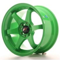 Japan Racing JR3 15x8 ET25 4x100/108 Green