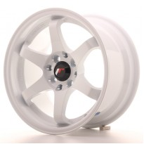 Japan Racing JR3 15x8 ET25 4x100/108 White