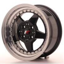 Japan Racing JR6 15x7 ET25 4x100/108 Glossy Black