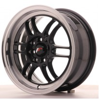 Japan Racing JR7 15x7 ET38 4x100/114 Gloss Black