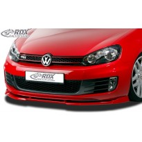 RDX Priekinis spoileris VARIO-X VW Golf 6 GTD, GTI