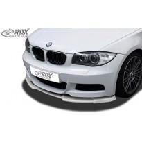 RDX Priekinis spoileris VARIO-X BMW 1-serija E82 / E88 (M-Paket ir M-Technik Priekinis buferis)