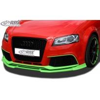 RDX Priekinis spoileris VARIO-X AUDI RS3 2011+ (3-durų + Sportback)