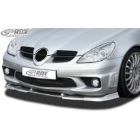 RDX Priekinis spoileris VARIO-X MERCEDES SLK R171 AMG -2008 (Tinka AMG ir automobiliams su AMG Priekinis buferis)