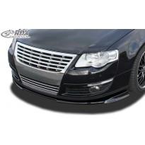 RDX Priekinis spoileris VARIO-X VW Passat B6 / 3C