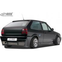 """RDX Galinis buferis VW Polo 3 (86c2f) Coupe su vieta registracijos numeriui """"GT4"""""""
