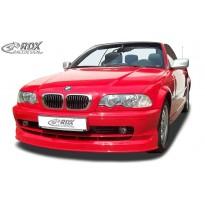 RDX Priekinis spoileris BMW 3-serija E46 Coupe / pereinamasis modelis -2002