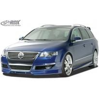 RDX Priekinis spoileris VW Passat 3C