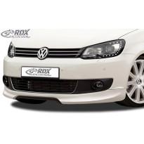RDX Priekinis spoileris VW Touran 1T1 Facelift 2011+
