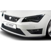 RDX Priekinis spoileris SEAT Leon 5F FR + Cupra / Leon 5F SC FR + Cupra / Leon 5F ST FR+ Cupra