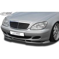 RDX Priekinis spoileris VARIO-X MERCEDES S-klasė W220 2002+