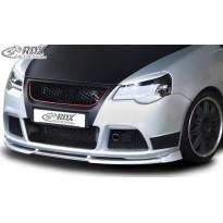 RDX Priekinis spoileris VARIO-X VW Polo 9N3 2005+ GTI Cup Edition