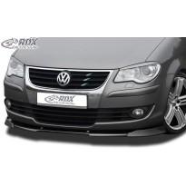 RDX Priekinis spoileris VARIO-X VW Touran 2007+