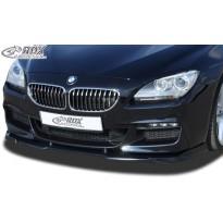 RDX Priekinis spoileris VARIO-X BMW 6er F06 Gran Coupe (M-Technic Priekinis buferis)