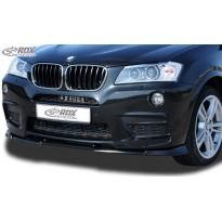 RDX Priekinis spoileris VARIO-X BMW X3 F25 M-Technic -2014