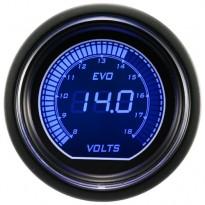 Įtampos indikatorius Autogauge EVO 52mm