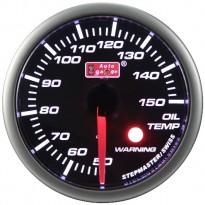 Tepalo temperatūros daviklis Autogauge LED 52mm