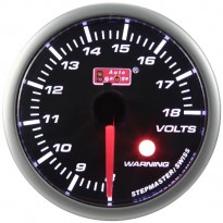 Voltmetras Autogauge LED 52mm