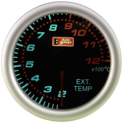 Išmetamūjų dujų temperatūros daviklis Autogauge smoke 2 52mm
