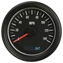 Autogauge VDO stiliaus spidometras 85mm 0-220km/h