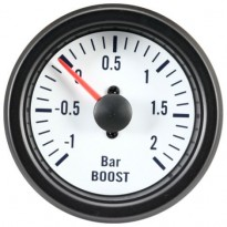 Autogauge VDO White Style Boost Gauge 51mm