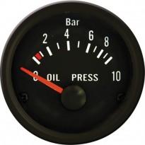 Autogauge VDO stiliaus tepalo slėgio indikatorius 51mm