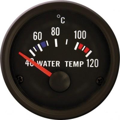Autogauge VDO stiliaus vandens temperatūros indikatorius 51mm