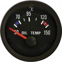 Autogauge VDO stiliaus tepalo temperatūros indikatorius 51mm