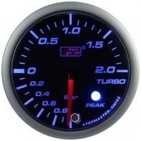 Turbinos slėgio indikatorius Autogauge Peak 52mm Mėlyna/Balta