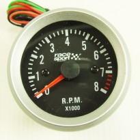 Variklio apsukų indikatorius Race sport 52mm