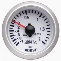 Turbinos slėgio indikatorius Race sport 52mm