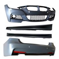 BMW 3-serija F30 2011+ M stiliaus bamperių komplektas