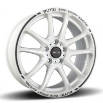 Wheel BUTZI ZR01 WHITE